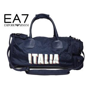 EA7 エンポリオ アルマーニ 276124 6P280 BLACK EA7 ロゴマーク入り メンズ ブラック コットン ジャージ セットアップ トラックスーツ メンズSサイズ perlei