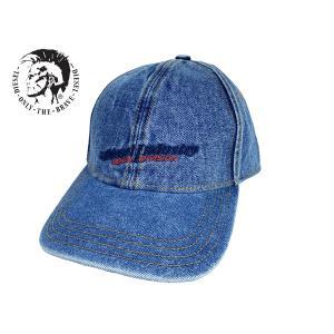 DIESEL ディーゼル X02721 P0397 H1939 スタッズ付き ロゴ入り ウォッシュ ブラック デニム ラウンドジッパー ロング ウォレット 長財布|perlei