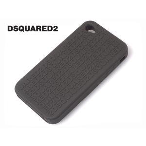 DSQUARED2 W12 IT5011 V337 82 ロゴ柄 ミリタリーグリーン系 シリコン iPhone 4 用 保護ケース アイホン4 カバー|perlei