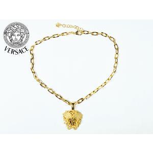 VERSACE COLLECTION ヴェルサーチ コレクション V800604S BLACK ハーフメデューサ刺繍絵柄入りメンズ向けブラック半袖ポロシャツ メンズSサイズ ベルサーチ|perlei