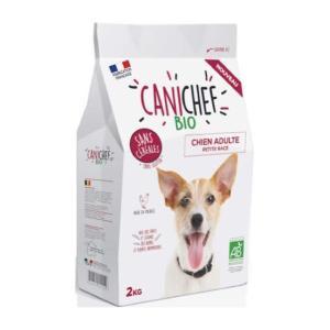 カニシェフ オーガニック グレインフリー ドッグフード <小型成犬用>着色料、香料、農薬未使用で安心!! perrito-shop
