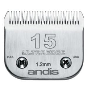 【アンディス正規品】Andis UltraEdge Blade 15 替刃 1.2mm 無料研ぎ券付 オースターA5互換|pet-dougu