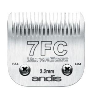 【アンディス正規品】Andis UltraEdge Blade 7FC 替刃 3.2mm 無料研ぎ券付 オースターA5互換|pet-dougu