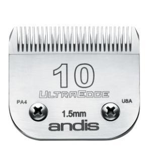 【アンディス正規品】Andis UltraEdge Blade 10 替刃 1.5mm 無料研ぎ券付 オースターA5互換|pet-dougu