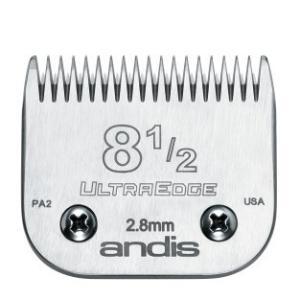 【アンディス正規品】Andis Ultraedge 8 1/2 Blade 替刃 2.8mm 無料研ぎ券付 オースターA5互換|pet-dougu