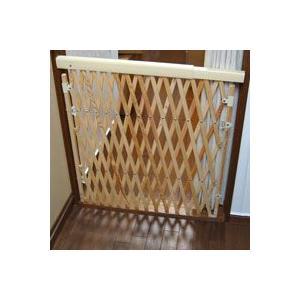 【送料無料】木製アコーディオン ペットゲート|pet-dougu