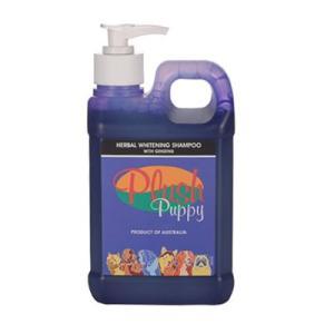 プラッシュパピー ハーバル ホワイトニングシャンプー 500ml|pet-dougu