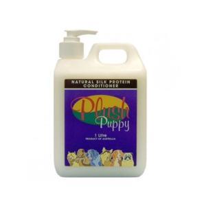 プラッシュパピー ナチュラル シルク プロテイン コンディショナー 1L|pet-dougu