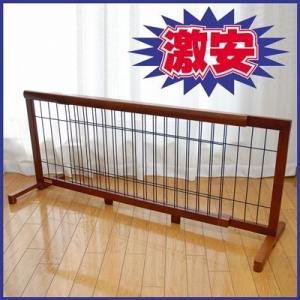 【ペット用品】木製 伸縮ペットゲート OA-G105 107から196cm|pet-dougu
