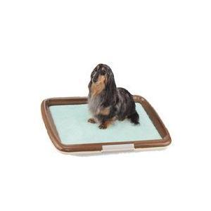 【犬のトイレ】ボンビ しつけるトレー フレーム タイプ M|pet-dougu