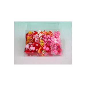 女の子用リボン 50ケセット|pet-dougu