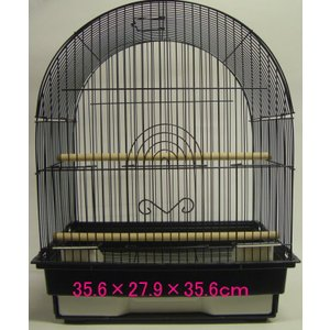 小鳥かご ケージ アーチ型 35.6×27.9×35.6cm 1405-5 【送料無料】