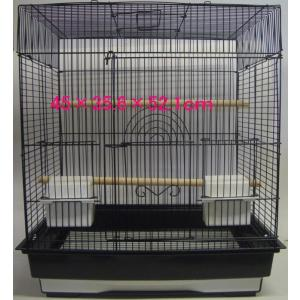 小鳥かご ケージ 中型 横開き 47×35.5×52(cm) 1701 【送料無料】
