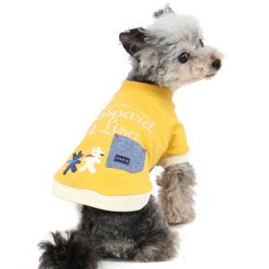 【まとめ割り対象】犬服 犬 服 犬の服 ドッグウェア ペットパラダイス リサとガスパール イエロー ...