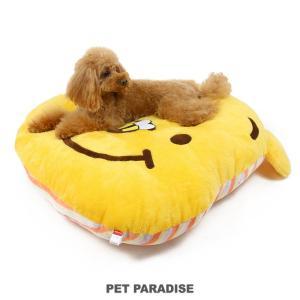 犬 ベッド ペットパラダイス ディズニー くまのプーさん 大きな クッション(80.5×90cm)