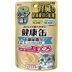 アイシア 健康缶パウチ シニア猫用下部尿路ケア 40g