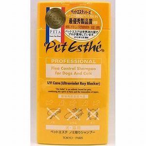 ニチドウ 犬猫 シャンプー ペットエステ ノミ取りシャンプー 350ml|pet-square-cat