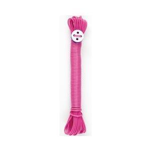ハグハグ ランドリー 洗濯ロープ ランドリーロープ 10m 2mm ピンク (洗濯紐/物干しロープ)|pet-square-cat