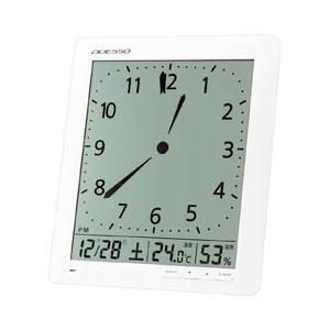 アデッソ 置き時計 アナログ風 デジタル電波時計 KW9280|pet-square-cat