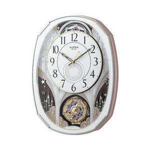 リズム時計工業 電波時計 からくり時計 スモールワールドノエル M 4MN513RH03|pet-square-cat