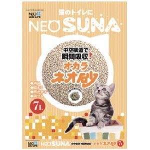 コーチョー NEOSUNA ネオ砂 おからの猫砂 7L (オカラ)|pet-square-cat|02