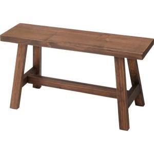 (東谷 AZUMAYA)ソーレ ワイドスツール 木製 椅子 チェア LFS-492BR 玄関ベンチ/ガーデンチェア/おしゃれ/かわいい(東谷商品以外と同梱不可)|pet-square-cat