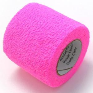 ヴェトラップ 動物用 自着性弾力包帯 5cm×2m ピンク ペット 犬 猫 包帯|pet-square