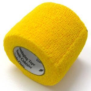 ヴェトラップ 動物用 自着性弾力包帯 5cm×2m イエロー ペット 犬 猫 包帯|pet-square