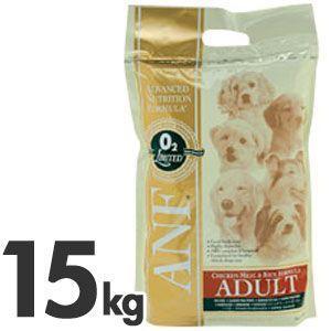 猫用品 ANF アダルト チキン&ライス 成犬用 15kg (ドッグフード・犬・フード)|pet-square