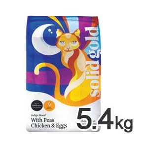 猫用品 ソリッドゴールド インディゴムーン 5.4kg 猫 キャットフード|pet-square