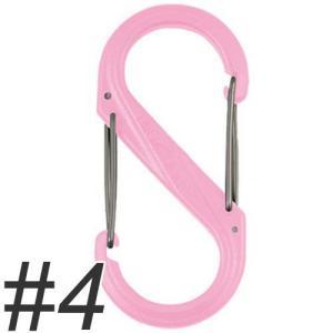 ナイトアイズ エスビナー プラスチック No.4 NI01123 ピンク (犬 カラビナ)|pet-square