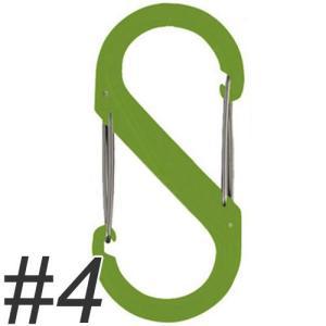 ナイトアイズ エスビナー プラスチック No.4 NI01135 ライムグリーン (犬 カラビナ)|pet-square