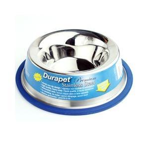 犬 食器 ファンタジーワールド ペット用 食器 ステンレス食器 デュラペットボウル 富士型 M 22cm 中型犬・大型犬向き|pet-square