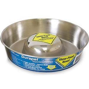 ファンタジーワールド ペット用 食器 デュラペット スローフィードボウル 19cm ペット フードボウル お皿|pet-square