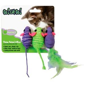 猫用品 スーパーキャット 猫用おもちゃ GO! CAT GO! スリーマウス GO-03|pet-square