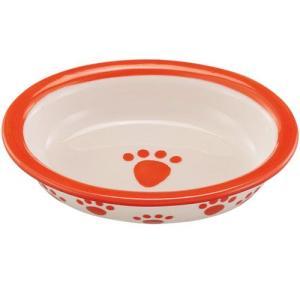 犬 食器 ペットパウ ベイビー オレンジ ペット フードボウル お皿|pet-square