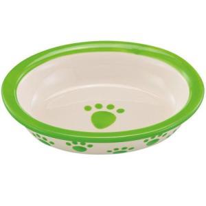 犬 食器 ペットパウ ベイビー ライム ペット フードボウル お皿|pet-square