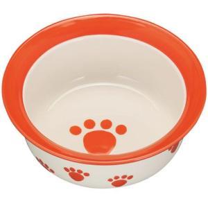 ペットパウ ドッグボウル(犬の食器) SS PR60507 オレンジ pet-square