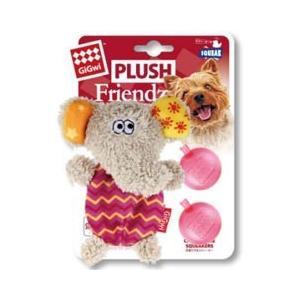 プラッツ 犬 おもちゃ GiGwi プラッシュフレンズ ミニ エレファント GW6227|pet-square
