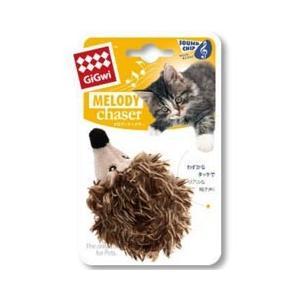 猫用品 プラッツ 猫 おもちゃ GiGwi メロディチェイサー ハリネズミ GW7019|pet-square