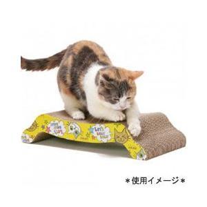 猫用品 SPORTPET 猫用 爪とぎ バリバリ ベッド M|pet-square