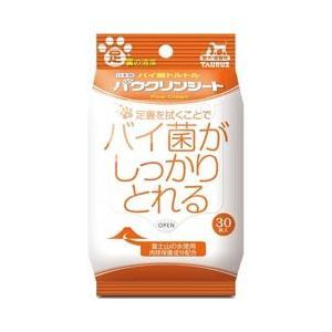 トーラス 犬猫用ウェットシート バイ菌トルトル パウクリンシート 30枚|pet-square