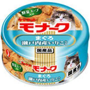 猫用品 キャネット モナーク まぐろ 瀬戸内産いりこ入り 80g|pet-square