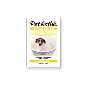 ペットエステ アロマ バスソルト 入浴剤 15g カモミールの香り|pet-square
