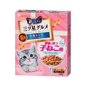 猫用品 ユニチャーム 銀のスプーン 三ツ星グルメ 健康に育つ子ねこ用 240g(20g×12袋)|pet-square