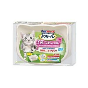 猫用品 デオトイレ 子猫から体重5kgの成猫用 ユニチャーム|pet-square
