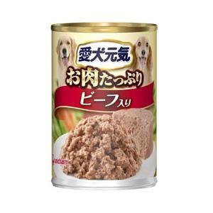 愛犬元気 缶詰 全成長段階用 ビーフ 375g|pet-square