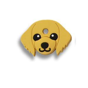 フィールドポイント ドッグ キーカバー(犬の鍵カバー) ダックスフンド クリーム|pet-square