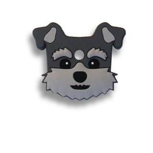 フィールドポイント ドッグ キーカバー(犬の鍵カバー) ミニチュアシュナウザー|pet-square