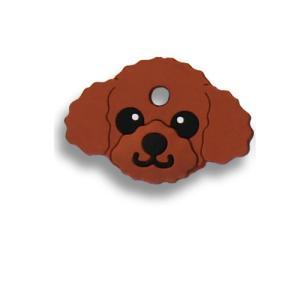 フィールドポイント ドッグ キーカバー(犬の鍵カバー) プードル レッド|pet-square